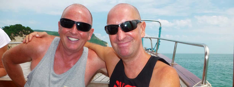 Bob and Ian