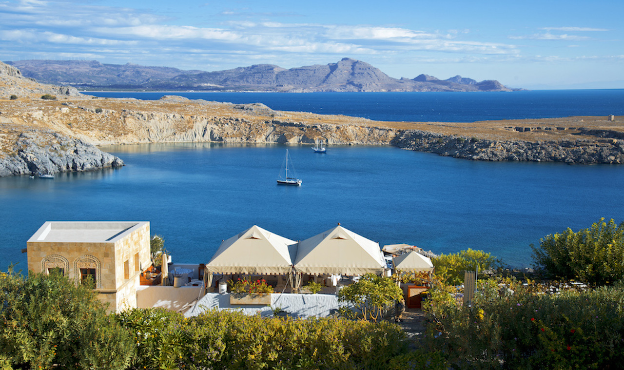 Melenos Lindos Suites Chic Stylish And Tranquil Luxury