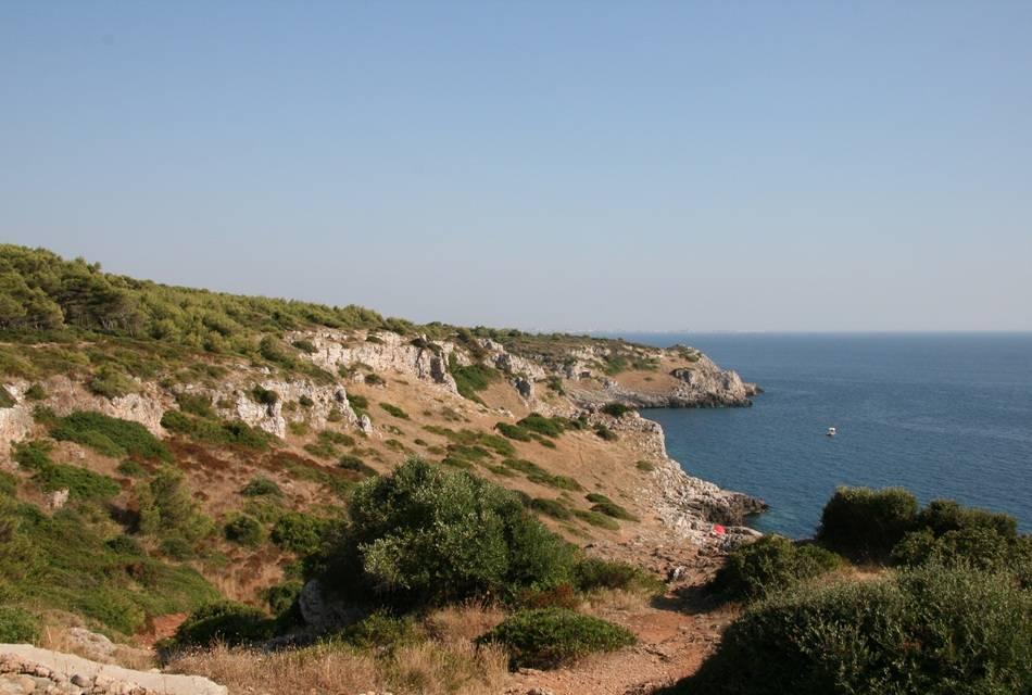 stretch of coastline in nardo